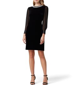 Shop for Tahari ASL Beaded Neck Stretch Velvet Sheath Dress at Dillard's. Visit Dillard's to find clothing, accessories, shoes, cosmetics & more. The Style of Your Life. Evening Wedding Guest Dresses, Wedding Dress Bustle, Wedding Dresses, Neck Stretches, Review Dresses, Petite Dresses, Custom Dresses, Sheath Dress, Dresses For Work