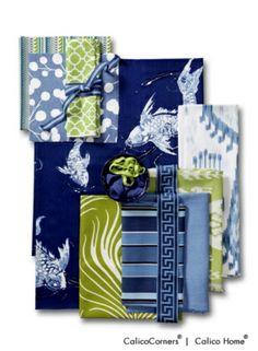 Koi Pond Fabric Collection