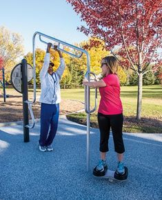 HealthBeat® Stretch - Stretching Outdoor Fitness Equipment for Flexibility - NEW!