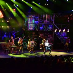 Scene from Rock of Ages now showing at Lyric Theatre Rock Of Ages, Theatre, Lyrics, Scene, Concert, Theater, Song Lyrics, Verses, Concerts