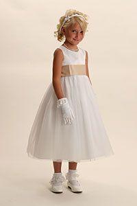 Flower Girl Dresses - Flower Girl Dress Style 2772- BUILD YOUR OWN DRESS! Choice of 139 Sash and 51 Flower Options!