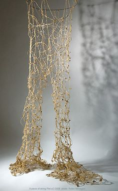 string like cobwebs/ dust