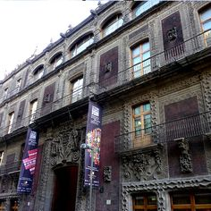 Iturbide's Palace in #MexicoCity. The best museums can be found using #wipapps www.wipapps.com