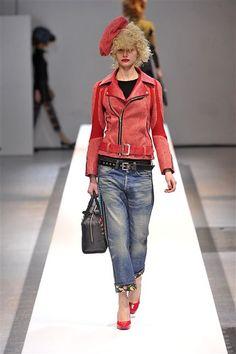 Junya Watanabe - Punk Styling (denim/leather)