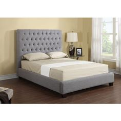 Iana Upholstered Panel Bed- Joss and Main,  543.00 for King