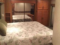2008 Used Carriage Cameo 35SB3 Fifth Wheel in Alabama AL.Recreational Vehicle, rv, 2008 Carriage Cameo 35SB3, This is a very clean fifth wheel! No smoking and no pets and it's loaded with features. These features include 50 amp service, an Onan 5500 LP generator, power awning, 3 slides, 2 air conditioners, side isle bathroom, 10 gallon electric/gas hot water heater, surround sound DVD system, and lots of storage inside and out. All appliances and equipment work great. It has 2 wardrobe…