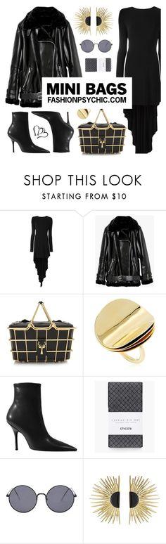 """Mini Basket Bag"" by fashionpsychic on Polyvore featuring Antonio Berardi, Savas, Elizabeth and James, Chico's, Aurélie Bidermann and minibags"