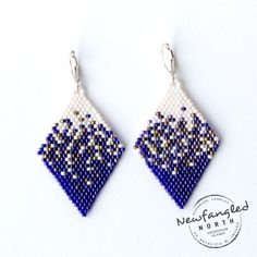 Pixelated Denali Earrings