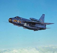 A Royal Are Force British Electric Lightning.