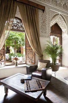 Moroccan Design, Moroccan Tiles, Moroccan Decor, Moroccan Bedroom, Moroccan Lanterns, Modern Moroccan, Turkish Tiles, Home Design, Interior Architecture