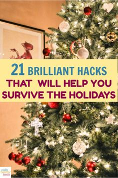 If thoughts of long lines, overdrawn bank accounts and frazzled wits have completely edged out those visions of sugarplums that are supposed to be dancing through your mind right now, then you'll definitely want to check out my hacks to help you survive the holidays! Merry Christmas, Christmas Math, Christmas Activities, Christmas Printables, Christmas Traditions, Christmas Ideas, Budget Holidays, Holidays And Events, Money Saving Tips