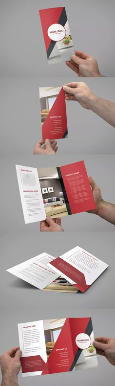 Multipurpose Tri-Fold Brochure Template InDesign INDD