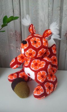 Crochet Whale, Crochet Sloth, Crochet Motif, Crochet Flowers, Crochet Toys, Crochet Patterns, Knit Crochet, Whale Pattern, Cat Pattern