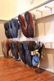 shoe storage off floor