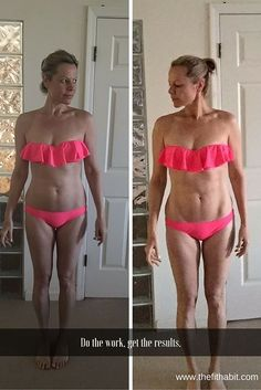 """These are my results from my last 3-week fitness challenge that just wrapped up.  I'm pretty happy with results given that I didn't really give up wine or cheese.  Could I have done more?  Sure!! But I like to enjoy myself too.  #zerodeprivation is my motto for as soon as I start depriving myself it backfires and I eat """"all the things"""".    Want to get started on your own journey?  Just comment below or send me a message!"""