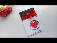 Handmade Valentine's Day Card/ How to Make a Love Card For Loved Ones Love Cards, First Love, Valentines Day, Gift Wrapping, Youtube, How To Make, Handmade, Valentine's Day Diy, Gift Wrapping Paper