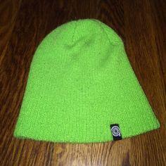 Bright green Beanie Bright green beanie from Zumiez Zumiez Accessories Hats