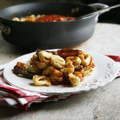 #RECIPE - Grilled Steak Bruschetta Tortellini