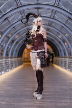 Nice Faun (Steampunkfaun) Cosplay at Leipziger Buchmesse 2015, Photo by RAWR-Shootings