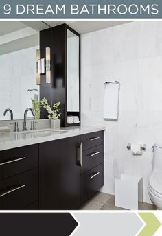 Like the mirror cabinet doors on the vanity cabinet