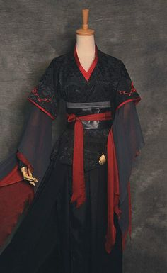 Chinese Clothing Traditional, Traditional Japanese Kimono, Traditional Dresses, Anime Costumes, Cosplay Costumes, Girly Outfits, Cute Casual Outfits, Modern Filipiniana Gown, Asian Dressing