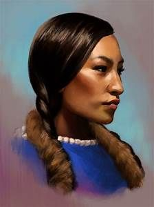 Photo Study:Native American Woman by TheNecco on DeviantArt