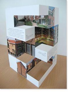 What is Trending in 2019 Normal Brochure or Die-cut Brochure? Brochure Indesign, Template Brochure, Design Brochure, Brochure Design Inspiration, Flyer Template, Design Ideas, Layout Design, App Design, Print Design