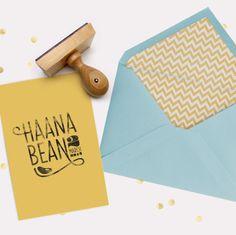Birth announcement stamps - bezigncreative.com
