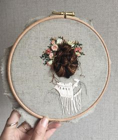 "689 Likes, 16 Comments - Rachael (@usedthreads) on Instagram: ""Stitching the blouse. Definitely popping this on my bedroom wall """