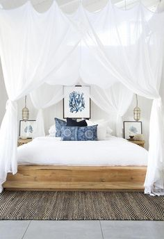Here are the Beach Coastal Style Bedroom Decor Ideas. This post about Beach Coastal Style Bedroom Decor Ideas was posted under the Bedroom category by our team at April 2019 at pm. Hope you enjoy it and don't . Coastal Master Bedroom, Beach House Bedroom, Beach Bedroom Decor, Coastal Bedrooms, Bedroom Themes, Cozy Bedroom, Modern Bedroom, Bedroom Designs, Chic Bedroom Ideas
