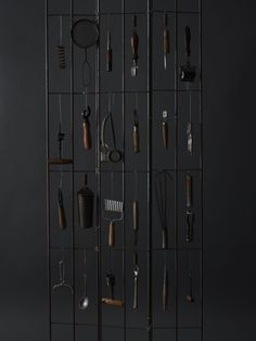 dario milano - could be a cool idea for display for the hardware store