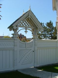 Victorian Fence Designs Fences Pinterest Fence Victorian Homes And Victorian