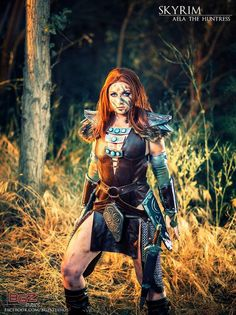 Wind of the Stars is Aela the Huntress | Photo by: BGZ Studios Ultimate Skyrim Cosplay Collection.