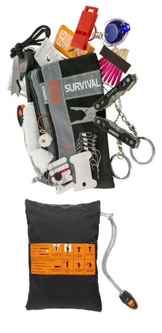 Small, light and compact, the Bear Grylls Ultimate Survival Kit provides a thorough collection of gear to help meet challenges in the wild. #affiliate