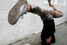 Urban Yoga in London.. there is no limit to where you can practice!