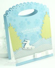 Gift Bag #Papertrey Ink Dies