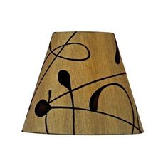 Brown Conical Lamp Shade with Clip-On Assembly, http://www.amazon.com/dp/B008N1TA9K/ref=cm_sw_r_pi_awdm_qgVvub1J6S3Q3