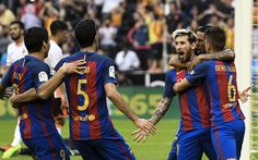 @fcbarcelona El #Barça aguanta el infierno de Mestalla, remota y gana en el último suspiro #9ine