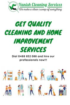 Welcome to Vanish Cleaning Service, if you are looking for professional cleaning service provider. We are highly skilled professional to deliver you amazing cleaning services at best possible price. Professional Cleaning Services, Brisbane, Amazing, How To Make