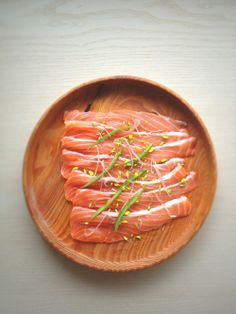 Salmon Sashimi (Salmon Sashimi | .:: Japanese Food and Drink ::.から)
