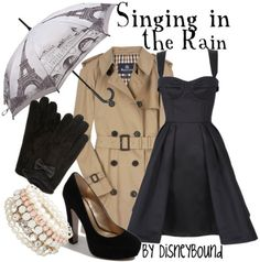 Singing In The Rain by DisneyBound