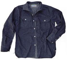 Tonkinoise Shirt Denim Snow
