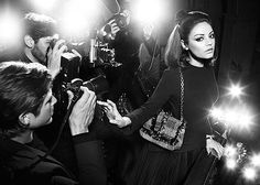 Милы Кунис для Christian Dior