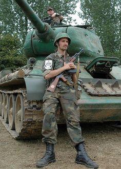 1995   Сербская Краина. Хорватские добровольцы. Война Сербии против Хорватии 1992 - 1995