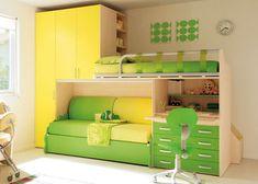 Adolescenti Small House Interior Design, Home Room Design, Kids Room Design, Kids Bedroom Designs, Bedroom Bed Design, Bedroom Decor, Beds For Small Rooms, Small Room Bedroom, Kids Bedroom Furniture