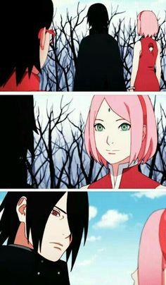 The way he looks at her ❤️ Sasusaku • Sasuke • Sakura