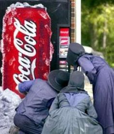 Looks like another victim of the vending machine!