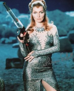 Catherine Schell as Maya. Space:1999 series 2 publicity photo