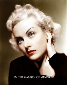 Carole Lombard by olgasha on deviantART