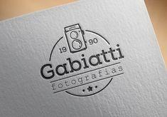 Criação Logotipo Maceió, design da Identidade Visual e desenvolvimento do novo site para Gabiatti Fotografia, que atua no mercado de fotografia e filmagem para eventos sociais há mais de 18 anos. http://www.artwebdigital.com/criacao-da-identidade-visual-gabiatti-fotografia-maceio